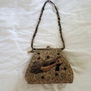 Mary Frances Beaded Strap Bag